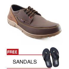 Beli Barang Redknot Hagy Brown Sepatu Pria Online