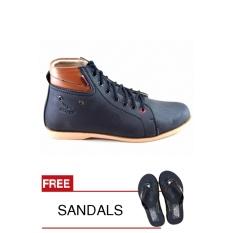 Top 10 Redknot Luz 01 Hitam Sepatu Sneakers Bonus Sandal Online