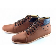 Promo Redknot Luz 03 High Cut Sneakers Pria Tan Redknot