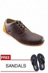 Beli Redknot Yolo Cokelat Sepatu Sneakers Bonus Sandal Secara Angsuran