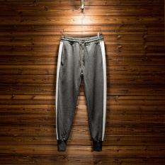 Korea Modis Gaya SMA Laki-laki Musim Semi atau Musim Gugur Celana Cargo Musim Semi Celana (Abu-abu abu)