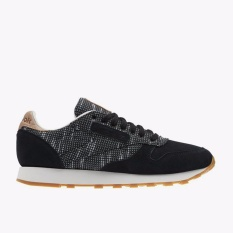 Reebok Classic Leather EBK Men's Lifestyle Shoes - Hitam