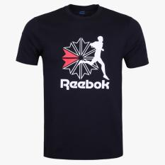 Jual Reebok Men S T Shirt Hitam Branded Original