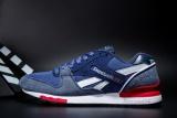 Jual Reebok Sepatu Kasual Pria Gl6000 Olahraga Sepatu Sepatu Lari Reebok Klasik Berjalan Sepatu Biru Dengan Kain Jeans Termurah