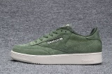 Reebok Sepatu Kasual Wanita Nubuck Suede Loafer Sepatu Reebok Club C Baru Fashion Skateboard Sepatu Hijau Army Intl Diskon Akhir Tahun