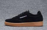 Ulasan Tentang Reebok Sepatu Kasual Wanita Nubuck Suede Loafer Sepatu Reebok Club C Baru Fashion Skateboard Sepatu Hitam Kuning Intl