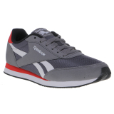 Jual Reebok Royal Cl Jog 2Rs Men S Shoes Shark Ash Grey White Moto Red Black Baru