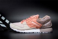 Beli Reebok Sepatu Kasual Wanita Gl6000 Olahraga Sepatu Sepatu Lari Reebok Klasik Berjalan Sepatu Orange Grey Tan Seken