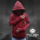 Diskon Refill Stuff Jaket Ninja Pria Maroon Jawa Barat