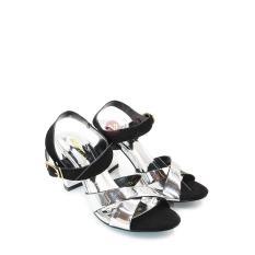 Regina Sandal Heels Wanita/Sandal High Heels/Sandal Hak/Sandal Heels 1704-36 - Black Size 36-40 (HA