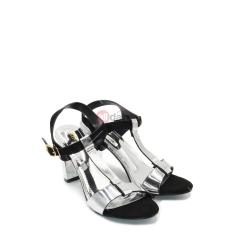 Regina Sandal Heels Wanita/Sandal High Heels/Sandal Hak/Sandal Heels 1704-37 - Black Size 36-40 (HAK 7cm)