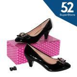 Katalog Regina Sepatu Fantofel High Heels Wanita Hak 7 Cm 1611 115 122 Black Size 36 40 Regina Terbaru