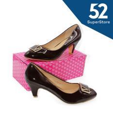Jual Regina Sepatu Fantofel High Heels Wanita Hak 7 Cm 1611 115 136 D Brown Size 36 40 Murah Di Jawa Timur