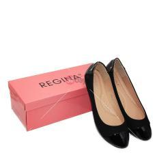 Regina Sepatu Flat Slip On Wanita 1706-05A - Black