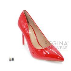 Regina Sepatu Pantofel Wanita 1611-015 - Red (HAK 9 cm)