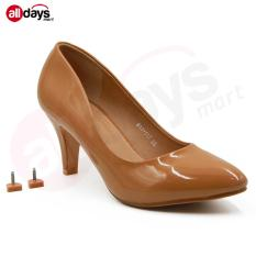 Regina Sepatu Pantofel Wanita 1611 117 Camel Hak 7 Cm Promo Beli 1 Gratis 1