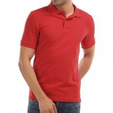 Harga Rekas Polo Shirt Polos Maroon Branded