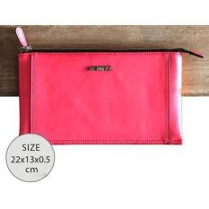 Harga Remax Dompet Genggam Clutches Kulit Glossy Series Genuie Leather Handbag Rose Paling Murah