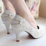 Ulasan Lengkap Renda Batu Kristal Air Bunga Renda Rajut Sepatu Mempelai Wanita Mempelai Wanita Sepatu Pernikahan 4 5 Cm Terlalu Besar Dan Setengah Yard