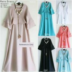Jual Beli Rere Dress Tosca Baju Dress Maxi Dress Gamis Muslim Baju Wanita Baru Indonesia