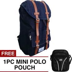 Promo Respect Mountain Backpack Free Mini Pouch Selempang Murah