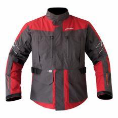 Respiro - Jaket motor Journey R3.1 - Charcoal Red
