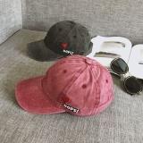 Jual Retro Chic Bordir Angin Dicuci Topi Baseball Anggur Merah Oem Asli