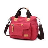 Beli Retro Messenger Diagonal Ransel Korea Fashion Style Bahu Tas Semangka Hong Terbaru