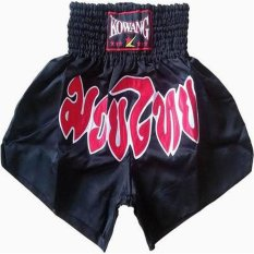 Jual Beli Online Retro Muay Thai Shorts Polyster Kick Boxing Mma K1 Celana Unsex S Xxl Intl