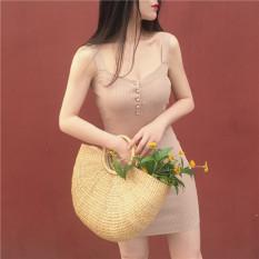 Jual Retro Siswa Perempuan Slim Rok Dalaman Gaun Hitam Baju Wanita Dress Wanita Gaun Wanita Ori
