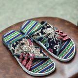 Beli Barang Retro Gaya Fashion Sandal Kasual Pria Beach Sandal Retro Intl Online