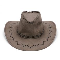 Beli Retro Unisex Cowboy Bucket Brim Cap Pelindung Matahari Barat Knight Hat Dengan Chin Cord Tan Intl Online