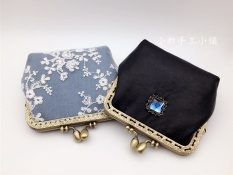 Revive old customs a people's gold to wrap a pearl lace small change wrap lovely delightfully fresh the cloth taking lady's coin to wrap handicraft wrap purse - intl