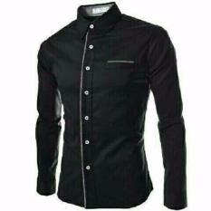 Harga Reyn Shop Kemeja Peter Black Atasan Pria Kemeja Pria Baju Pria Satu Set