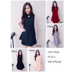 Obral Reyn Shop Yumy Dress Misty Dress Wanita Baju Wanita Pakaian Wanita Murah