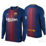 Spesifikasi Rf Jersey Bola Kaos T Shirt Panjang Barca Home Away 3Rd 2018 2019 Bagus