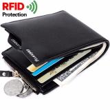 Harga Rfid Theft Protec Coin Bag Zipper Men Wallets Famous Brand Mens Wallet Male Money Purses Wallets New Design Rfid Men Wallet Intl Merk Baellerry