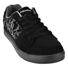 Rhumell Sepatu Sneakers Side 003 - Hitam/Abu-abu