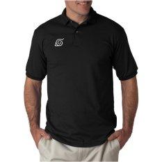 Review Toko Rick S Clothing Polo Shirt Konoha Hitam Online