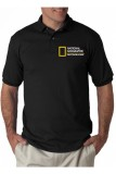 Beli Rick S Clothing Polo Shirt National Geographic Photographer Hitam Online