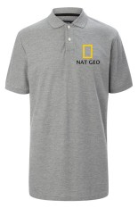 Harga Rick S Clothing Polo Shirt National Geographic Wild Abu Abu Indonesia