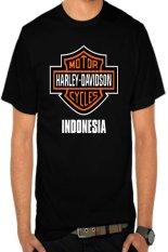 Beli Rick S Clothing Tshirt Harley Davidson Indonesia Hitam Kredit