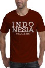 Rick's Clothing Tshirt Indonesia Tanah Air Beta - Coklat