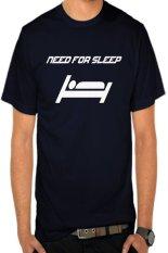 Beli Rick S Clothing Tshirt Need For Sleep Biru Dongker Secara Angsuran
