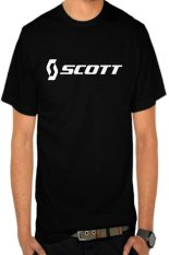 Rick's Clothing -Tshirt Scott - Hitam