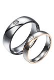 Spesifikasi Ring Fit Kekasih B85423 Perak Pucat Tepi Cincin Rose Gold Terbaru