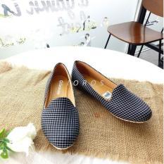 Rioros Sepatu Wanita Flat Shoes Belle Cantik – Hitam