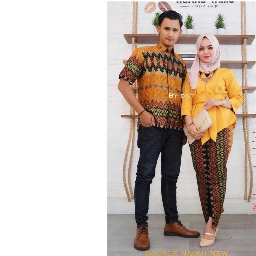 Riuisme - Couple Kebaya   Baju Kondangan   Baju Batik   Baju Gamis   Sarimbit  Batik 0c50138a71