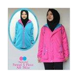 Spesifikasi Rl Jaket Parasut Bolak Balik Women Pink Yg Baik