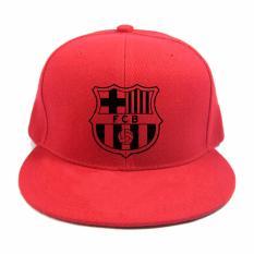 Diskon Besarrluck8888 Snapback Barcelona Merah